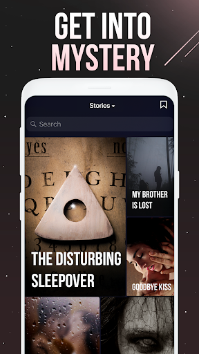 Thrill: chat book with short stories to read