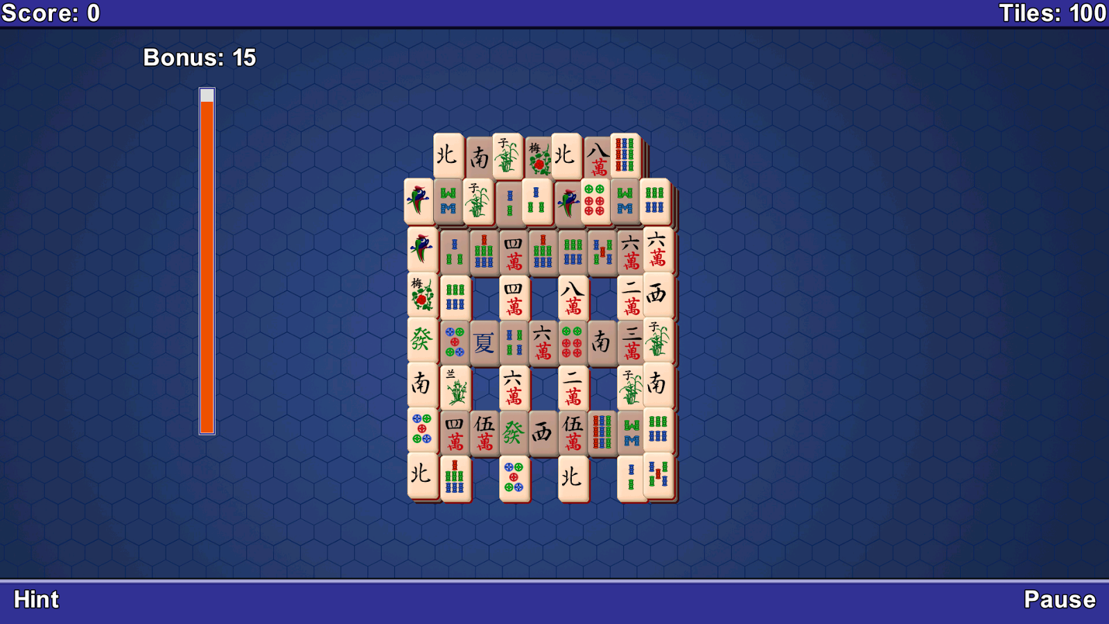 Mahjong- screenshot