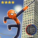 Amazing Spider Stickman Rope: City Gangstar Crime APK
