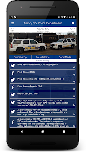 Amory MS Police Department- screenshot thumbnail