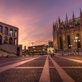 Milan by Charles Ong - City,  Street & Park  Historic Districts
