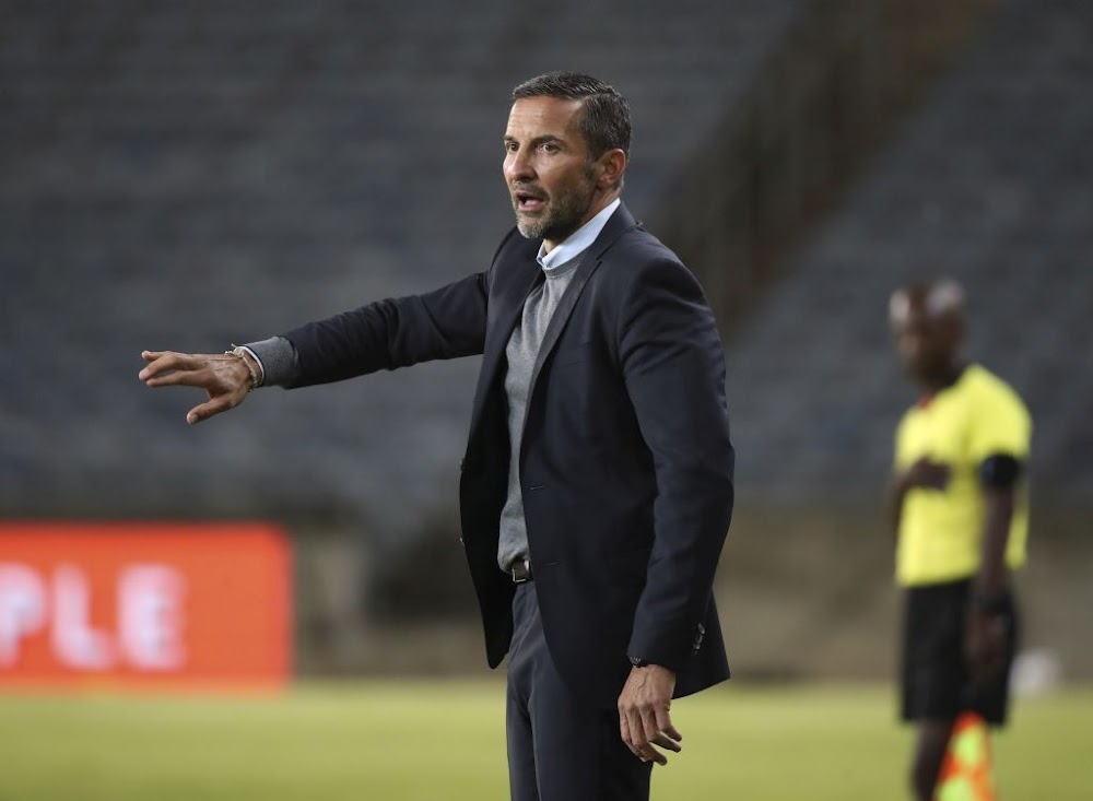 Zinnbauer refuses to point an accusing finger at Pirates goalkeeper Ofori after blunder - SowetanLIVE