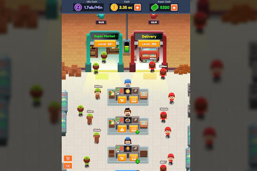 Food Delivery Tycoon - Idle Food Manager Simulator 1.1.2 screenshots 4