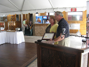 Photo: Sandra Morrison receives the Nova Scotia Learner Award