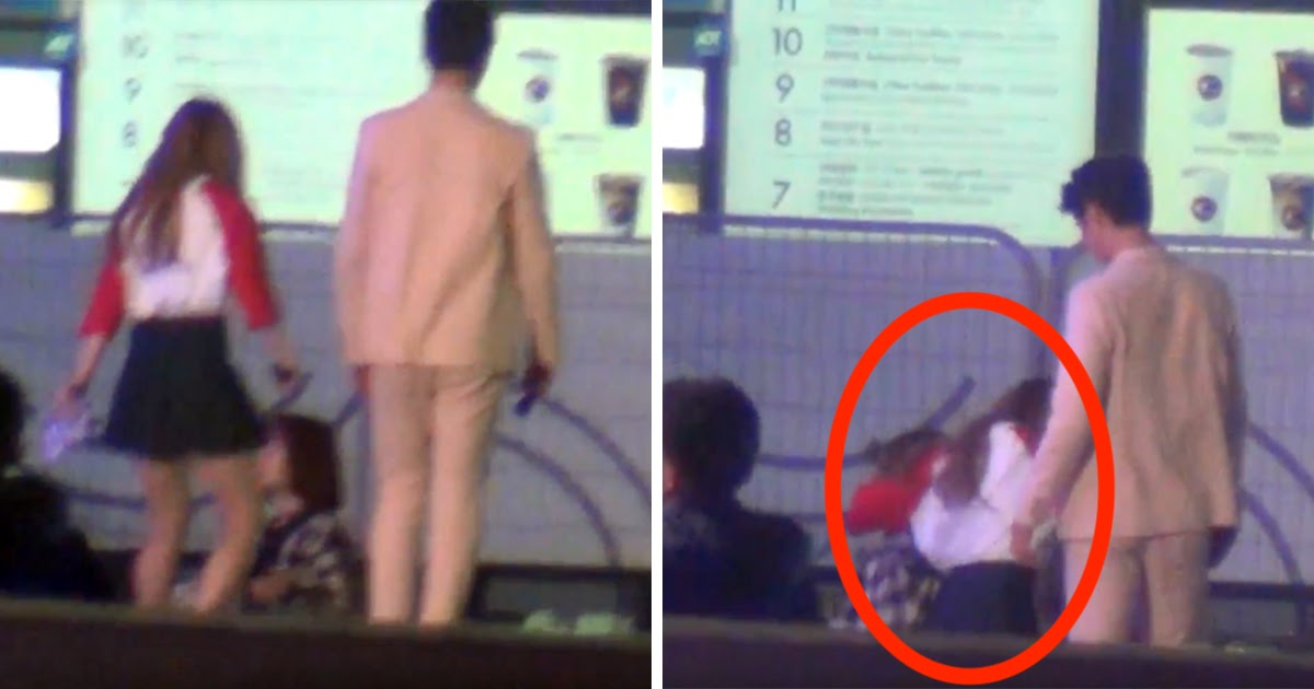 Image result for Irene Falls Down Flight Of Stairs, Rescued By Park Bo Gum