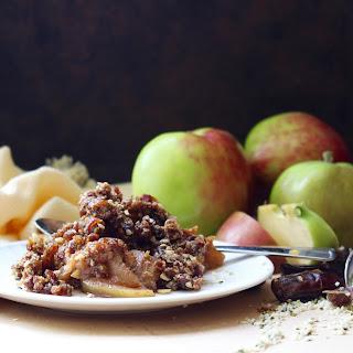 Vanilla Infused Apples with Hemp Cinnamon Raw-Nola