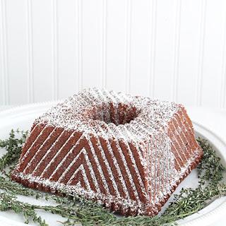 Brown Sugar Pound Cake.