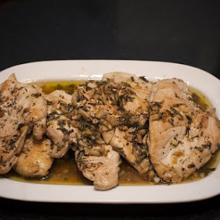 Chicken With Rosemary and Balsamic