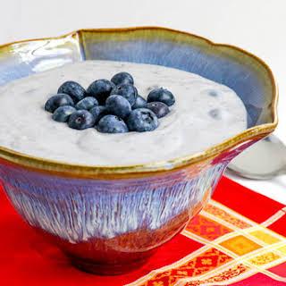 Blueberry Cream.