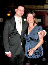 Photo: Ed and sister Lizzi