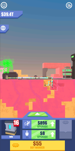 Idle Mars Digger screenshot 3