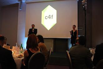 Photo: Maxim Behar and Lena Brandt opening the C4F awards ceremony