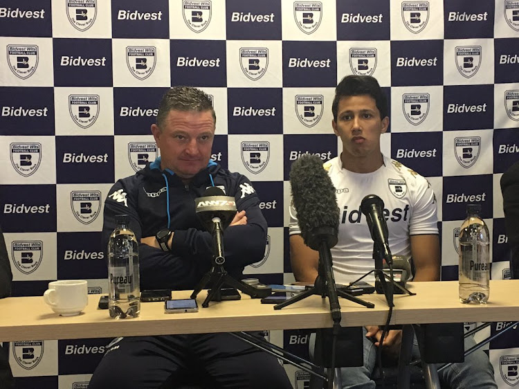 Bidvest Wits head coach Gavin Hunt during a press conference to unveil new Egyptian striker Amr Gamal on Tuesday 22 August 2017.