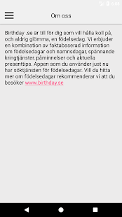 www födelsedag nu Birthday.se – Android Apps on Google Play www födelsedag nu