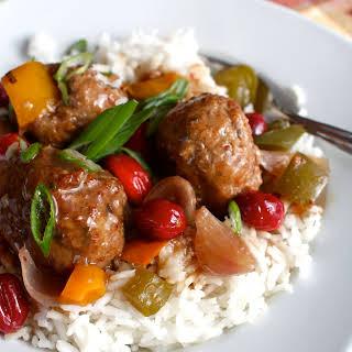 Slow-Cooker Sweet & Sour Turkey Meatballs.