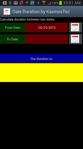 Date Duration by KasmosTec