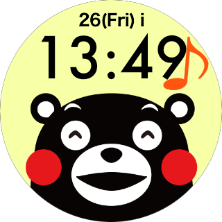 Face Watch (KUMAMON Ver.) 1.0 Windows u7528 3
