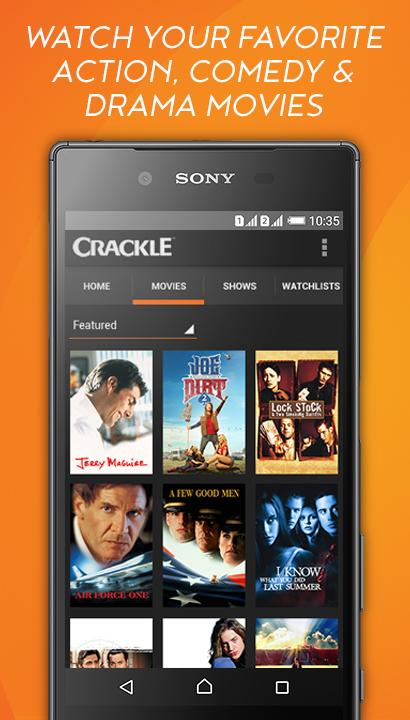 Crackle - Free TV & Movies screenshot #3