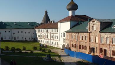 Photo: Внутренний двор Соловецкого кремля