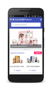 ACE MULTIPRODUCTS screenshot