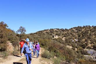 Photo: Camino a Monteponi con San Jacobo al fondo. Baños de la Encina.