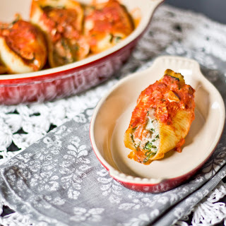 Stuffed Jumbo Pasta Shells