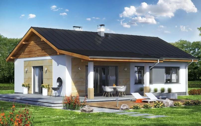 Projekt domu Terrier 2 bez garażu