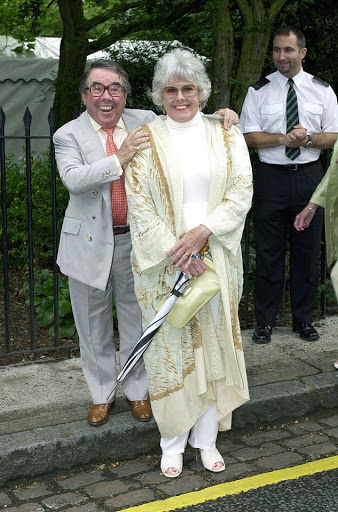 Who is Ronnie Corbett's widow Anne Hart?