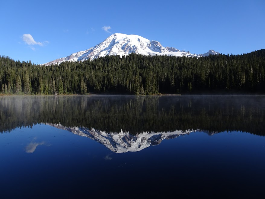 Mirror, mirror on the wall (Mount Rainiers reflection)