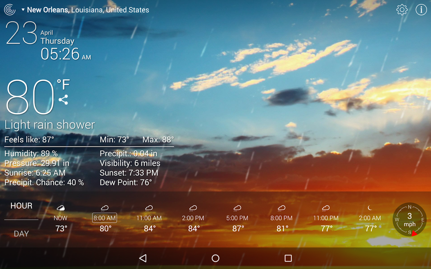 Weather Live- screenshot