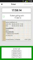 Screenshot of ÖV Bern