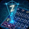 Keyboard-Hologram Neon Theme download