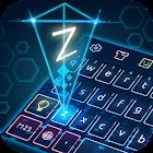 Keyboard-Hologram Neon Theme icon