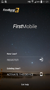 FirstMobile Screenshot