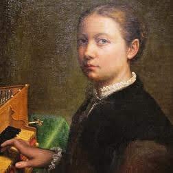 Sofonisba Anguissola - autoritratto 1554