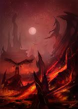 "Photo: ""Fire and Brimstone"" Imaginative painting"