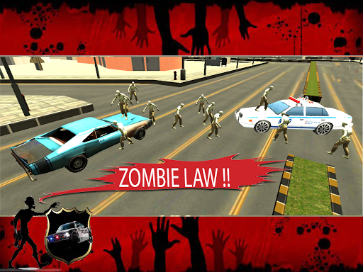 Cop Car Chase Z halloween