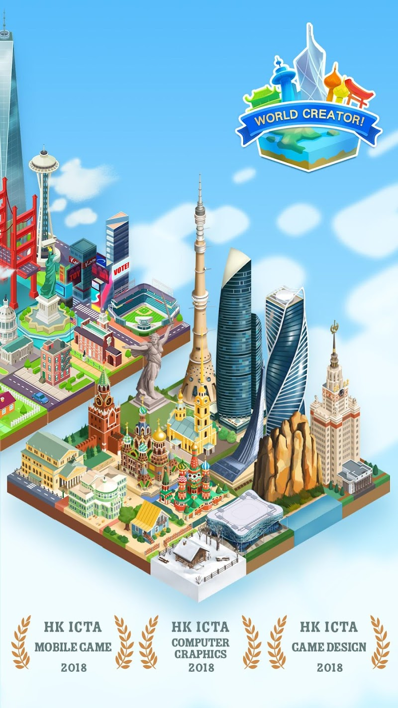 World Creator - 2048 Puzzle & Battle Screenshot 8
