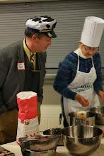 Photo: VT Secretart of Agriculture Chuck Ross & House Representative Carolye Partridge