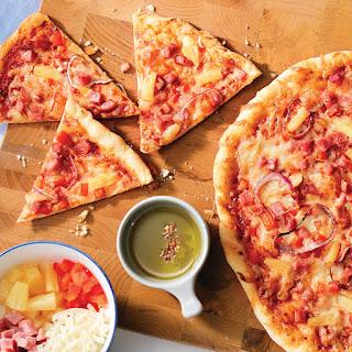 Savoury Hawaiian Pizza