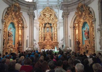 """Bispo diocesano presidiu à """"bênção dos peregrinos"""""""