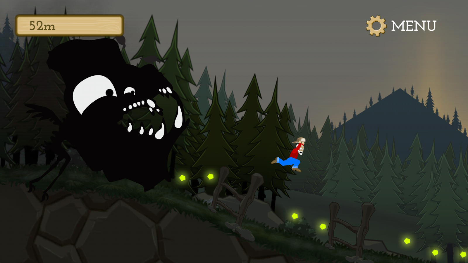 Black Mountain Run- screenshot