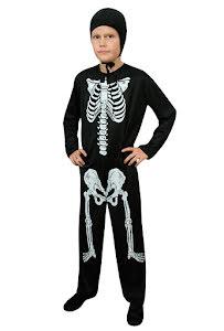 Barndräkt, Skelett