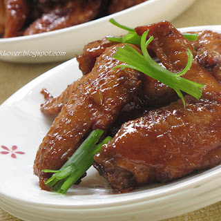 Cola Chicken Wings 可乐鸡翅.