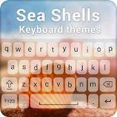 Sea Shells Keyboard Theme