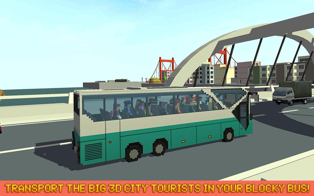 mr blocky city bus sim android apps on google play. Black Bedroom Furniture Sets. Home Design Ideas