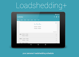Screenshot of Loadshedding +