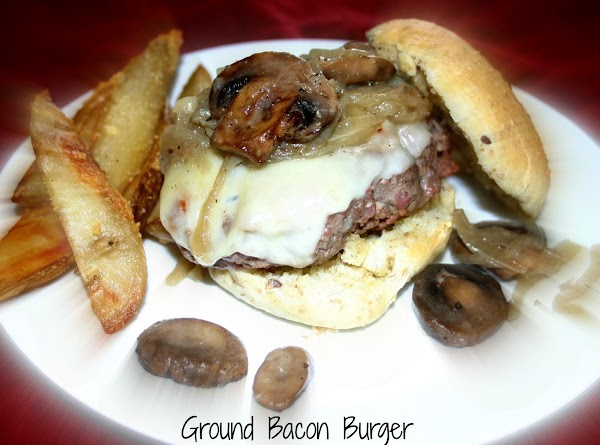 Ground Bacon Burger Recipe