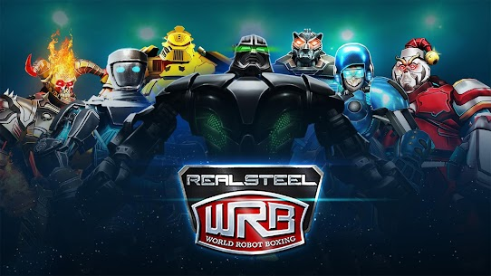 Real Steel World Robot Boxing Mod 40.40.259 Apk [Unlimited Money] 1