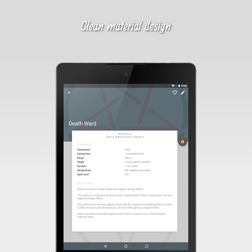 The 20 - RPG Companion App apktram screenshots 12